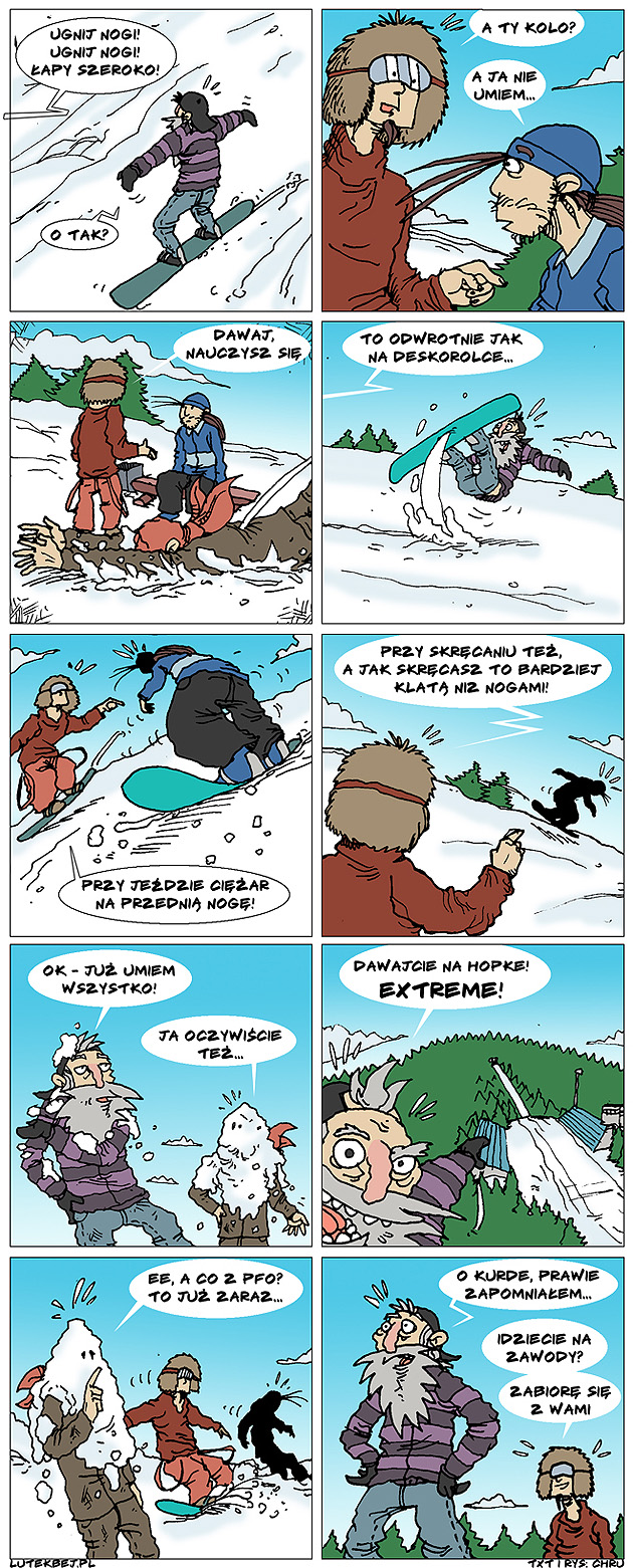 nauka snowboardu ze sportoffcami