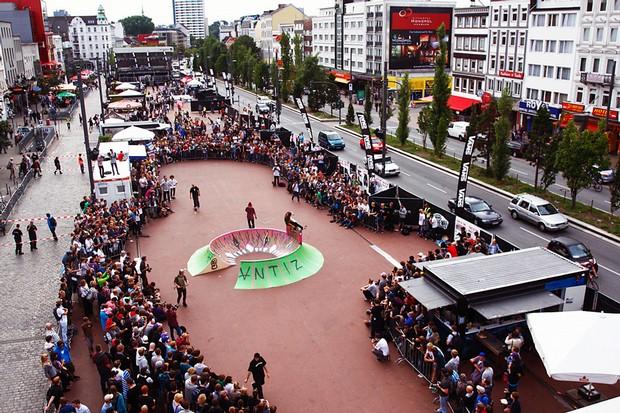 Spielbudenplatz w Hamburgu