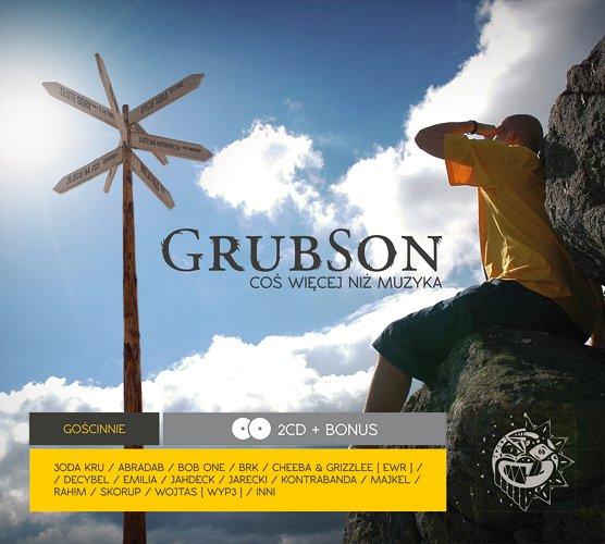 """Okładka płyty Grubsona """"Coś więcej niż muzyka"""""""