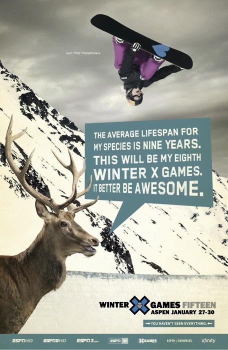 Winter X-Games 15 Plakat