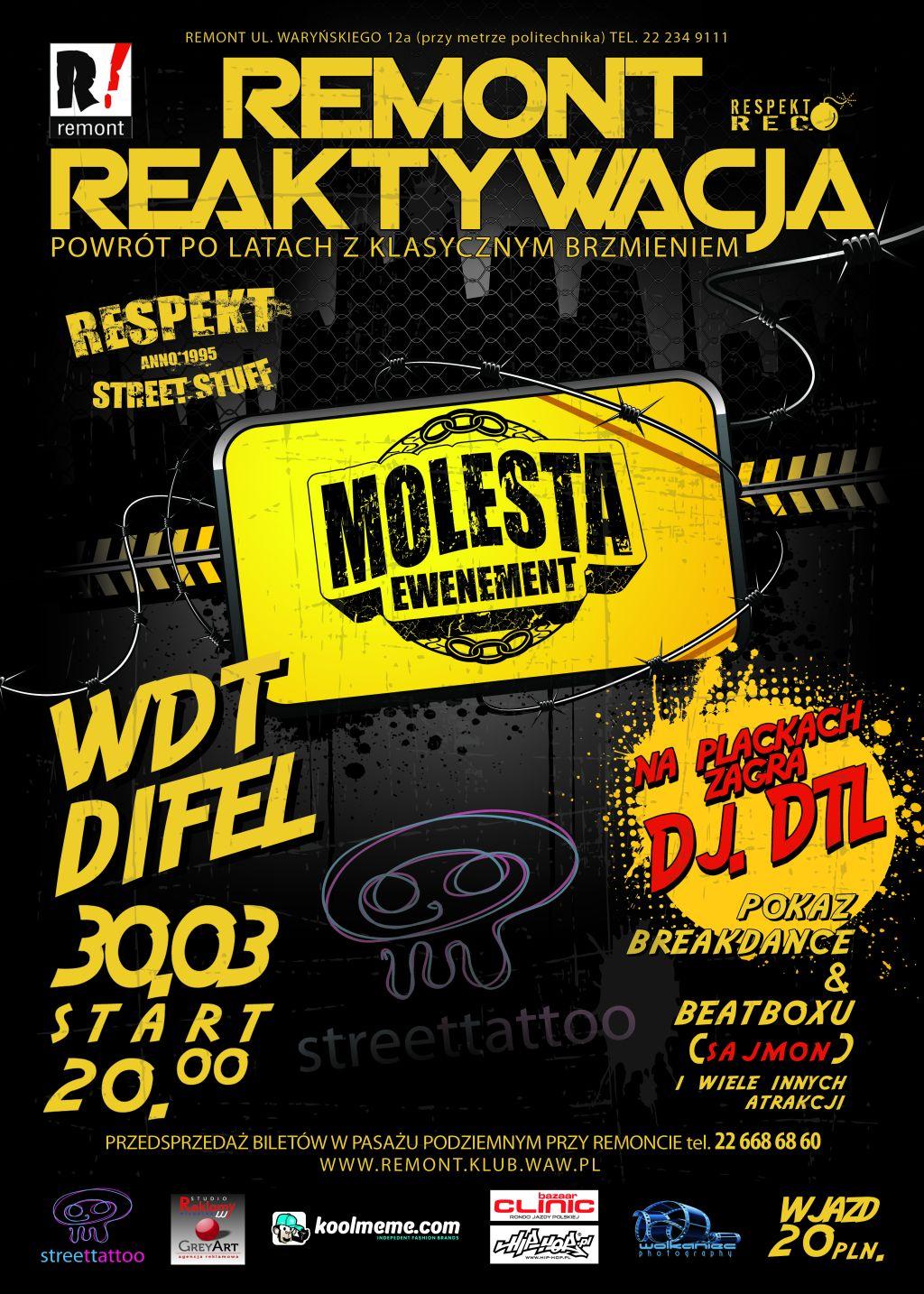 Molesta - Remont Reaktywacja !