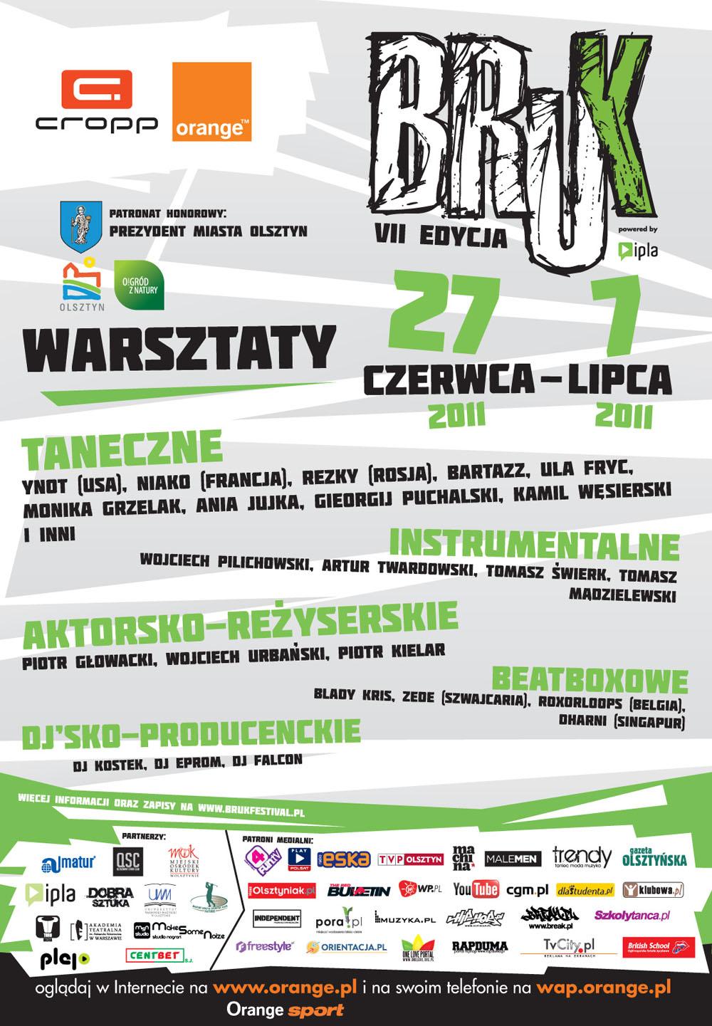 Bruk Festival 2011 - Warsztaty