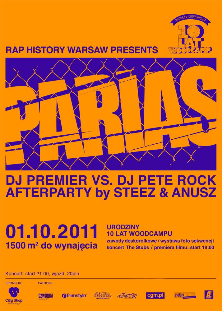 RHW x PARIAS x Premier vs. Pete Rock by Steez & Anusz