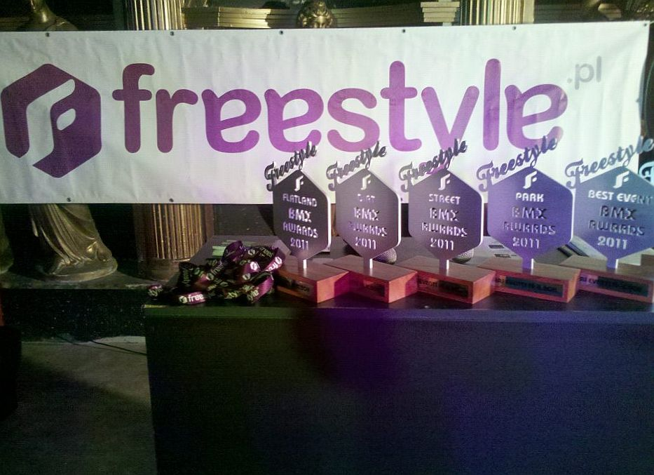 Gala Freestyle BMX Awards 2011 - Statuetki