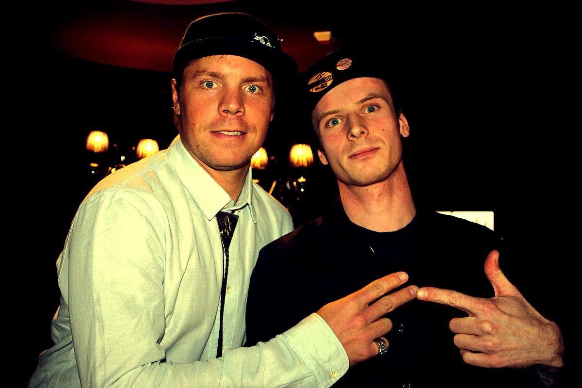 Travis Rice i Paweł Krężel
