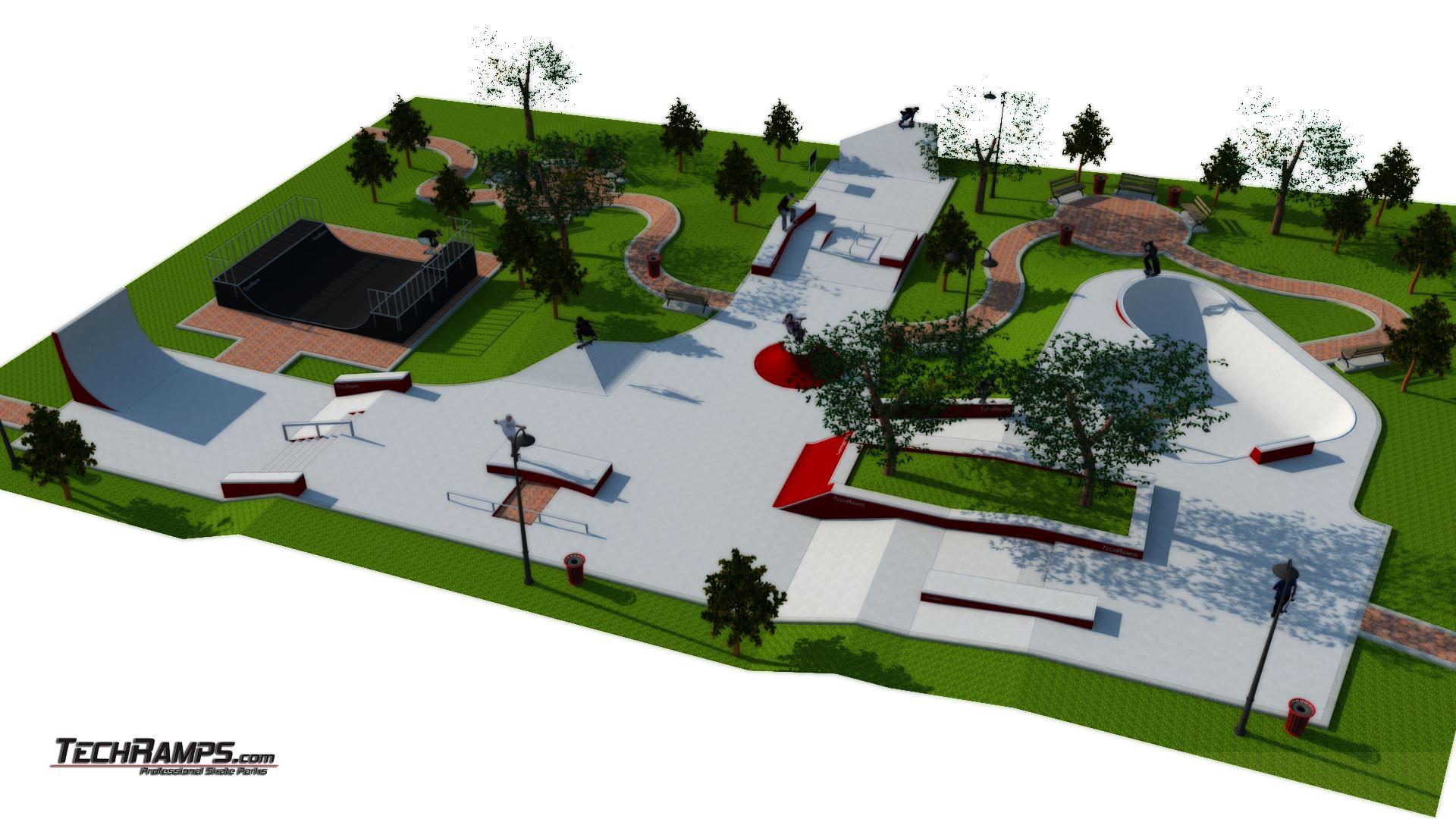 Skate Park Mistrzejowice - Kraków