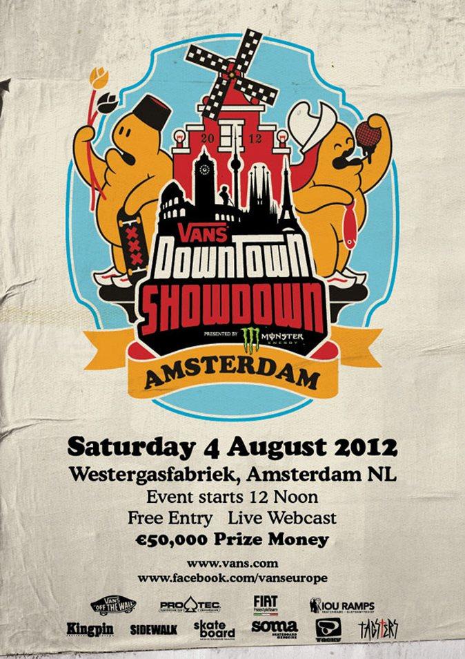Vans Downtown Showdown 2012 Amsterdam