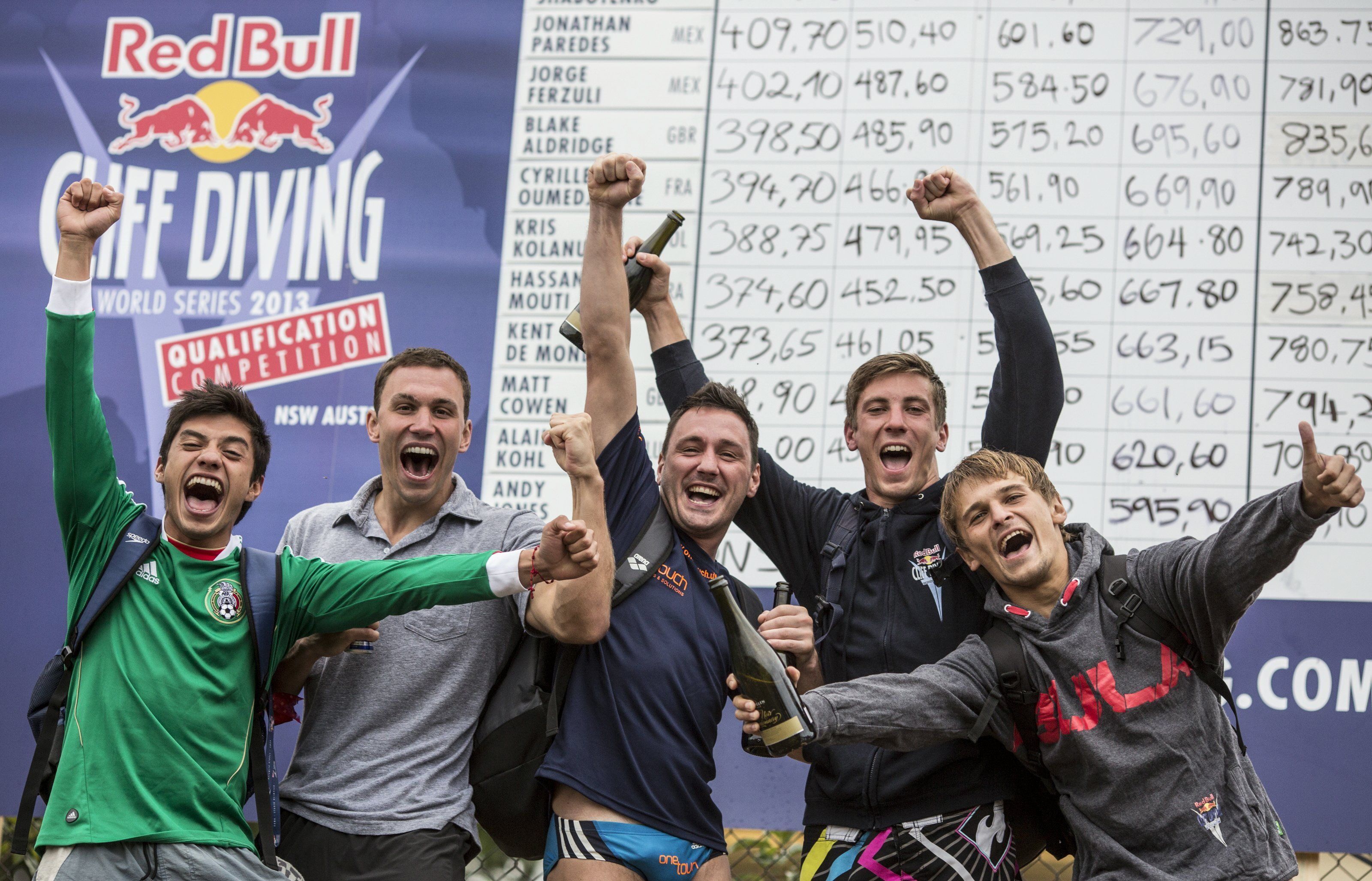 Kwalifikacje Red Bull Cliff Diving