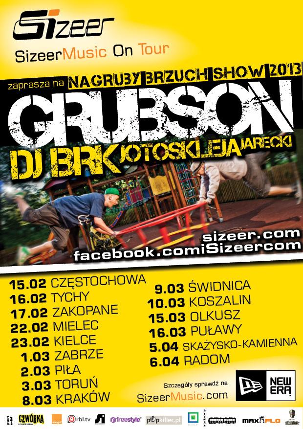 Sizeer Music On Tour – GrubSon i BRK