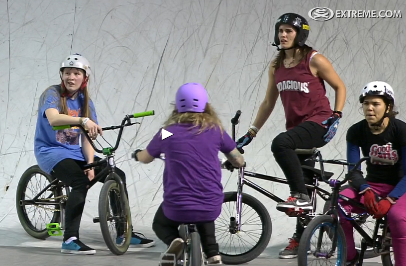 Simple Session 13 Sister Session Girls BMX Contest