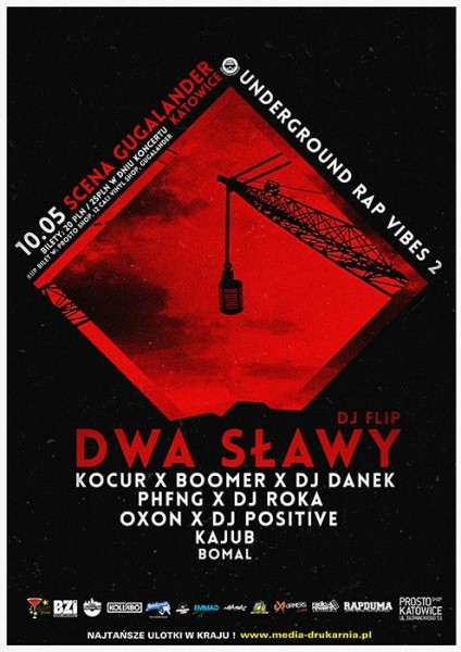 Underground Rap Vibes 2 - Dwa Sławy, Boomer x Kocur, PHFNG.