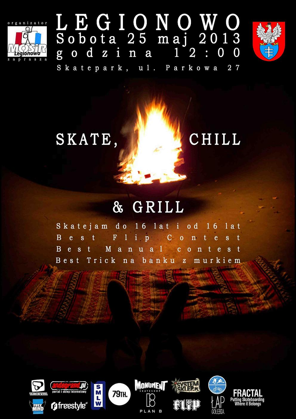 Skate Chill & Grill