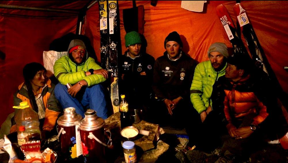Zdjęcie w namiocie