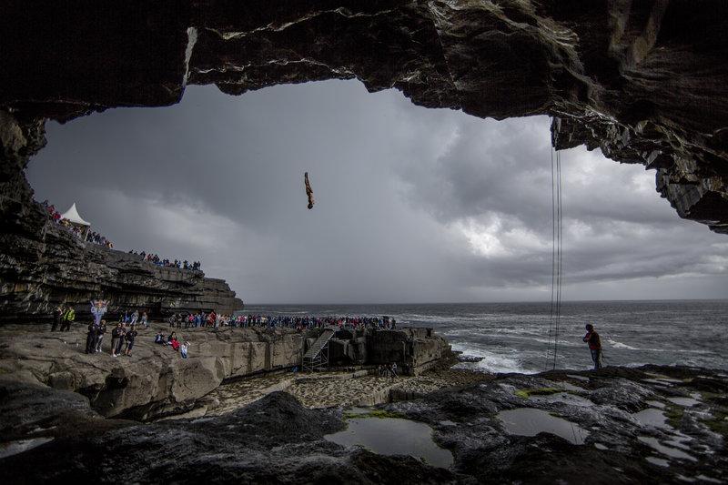 Red Bull Cliff Diving Irlandia