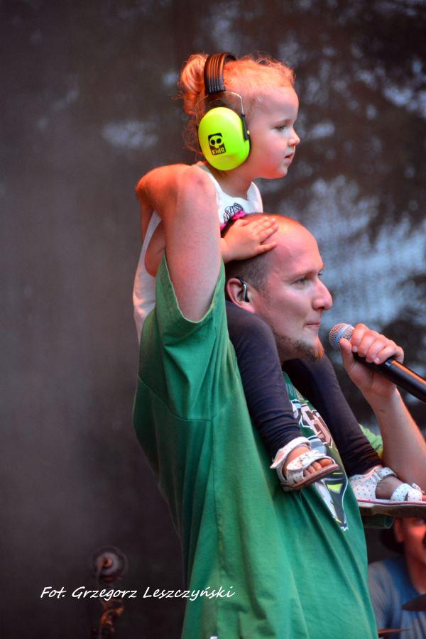 GrubSon z córką Mają