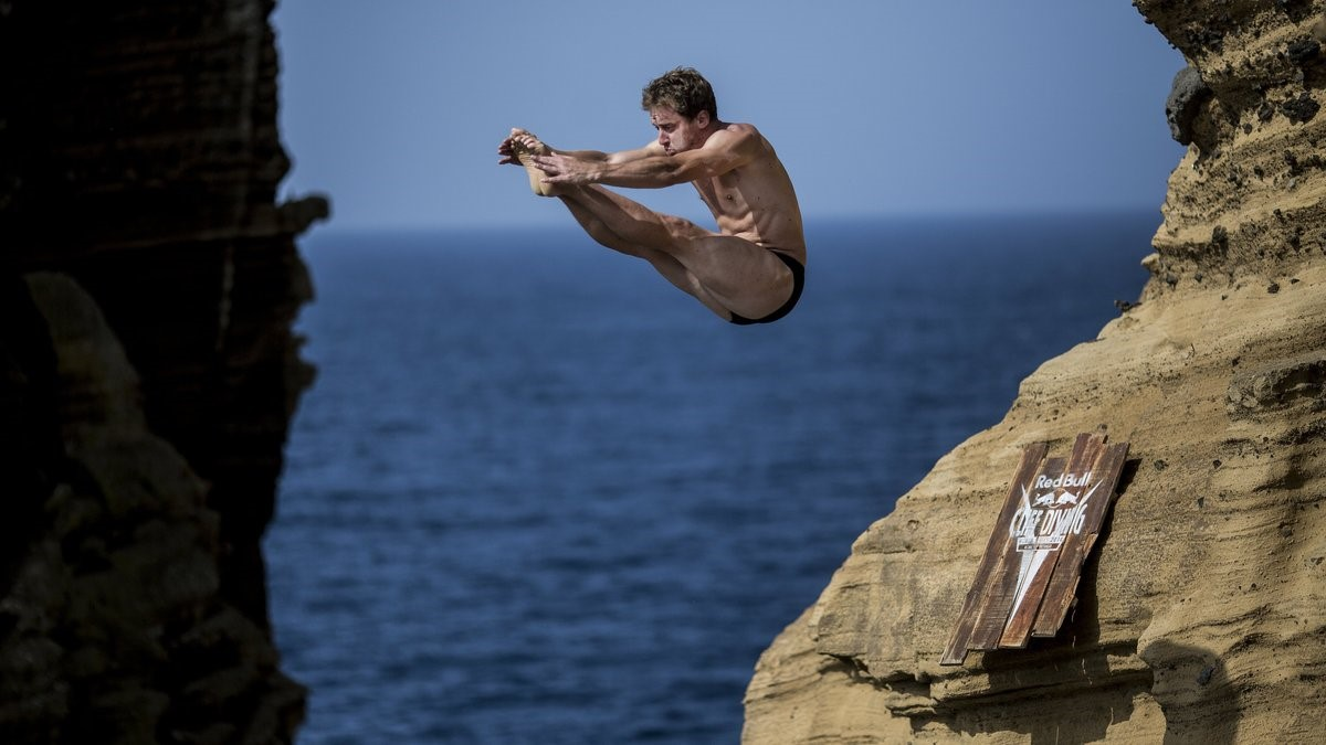 Dean Treml, Red Bull Cliff Diving