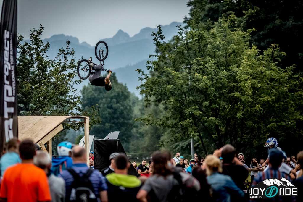 Pokazy Skokow Rowerowych - Joy Ride Zako Fest 2015