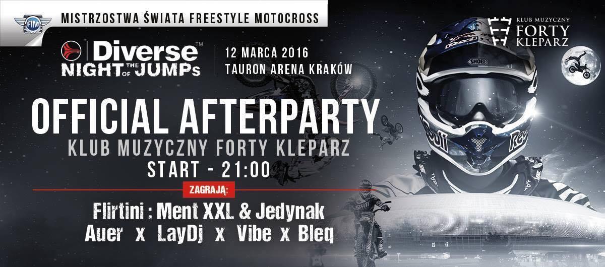 After po Mistrzostwach Świata FMX - Diverse NIGHT of the JUMPs 2016 TAURON Arena Kraków Poland
