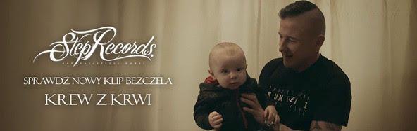 """W utworze Bezczela """"Krew z krwi"""" gościnnie pojawia się syn rapera - Oskar."""