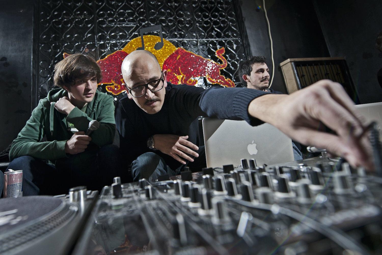 Red Bull Music Academy infosesja 2011- Eltron John i Marco Passarani