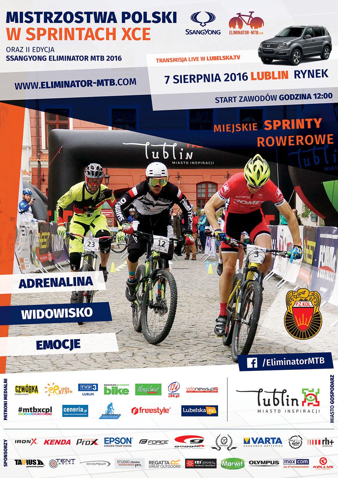 Mistrzostwa Polski MTB 2016 w sprintach XCE