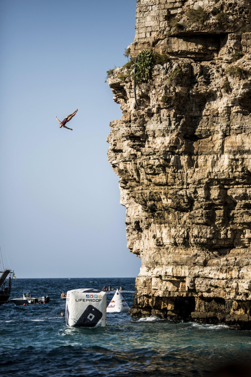 Red Bull Cliff Diving - Włochy