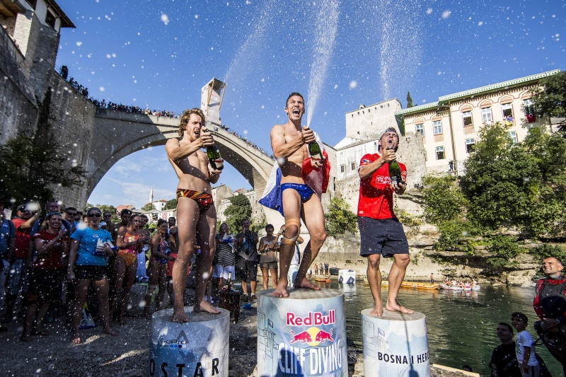 Red Bull Cliff Diving 2016 - Mostar
