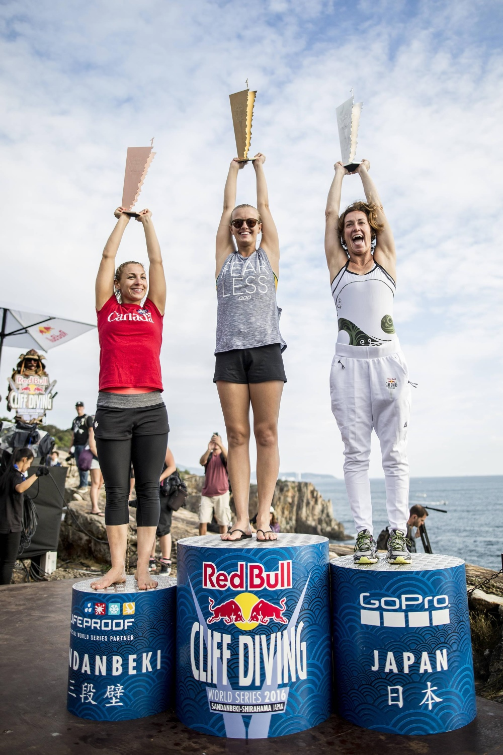 Red Bull Cliff Diving 2016 - Japonia