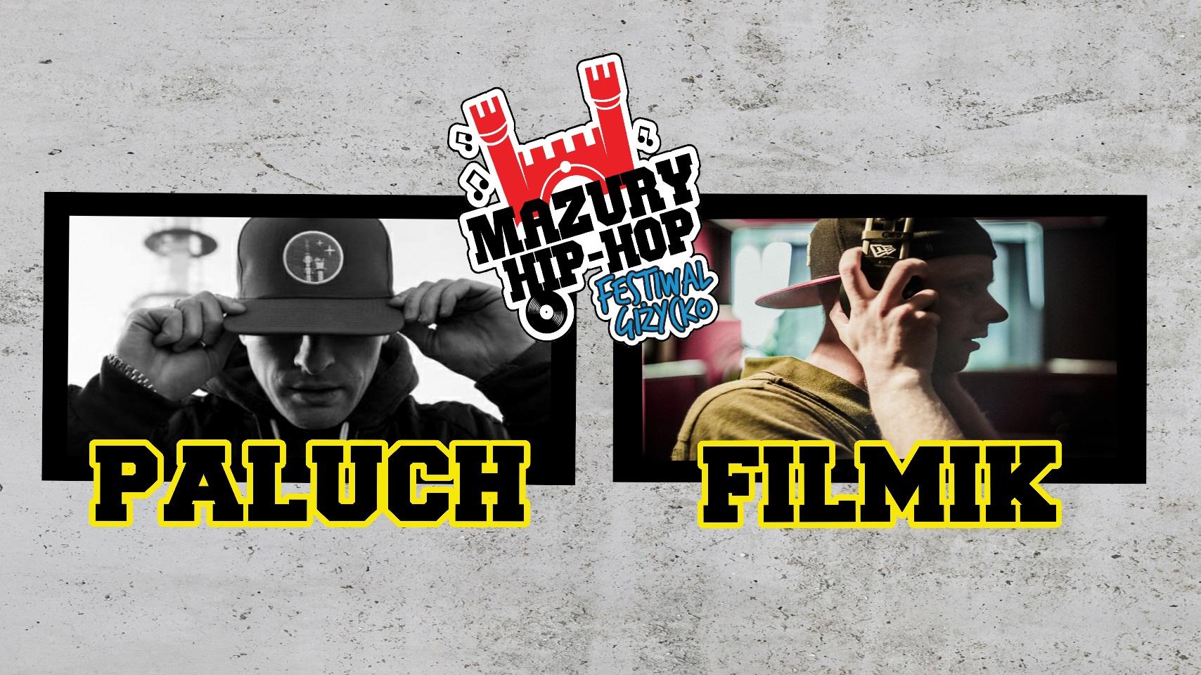Na XVI odsłonie Mazury Hip Hop Festiwal wystąpią również Paluch oraz litewski raper polskiego pochodzenia -Flimik