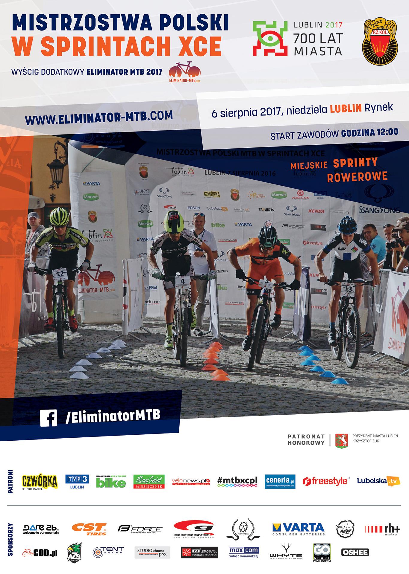 Mistrzostwa Polski MTB 2017 w Lublinie
