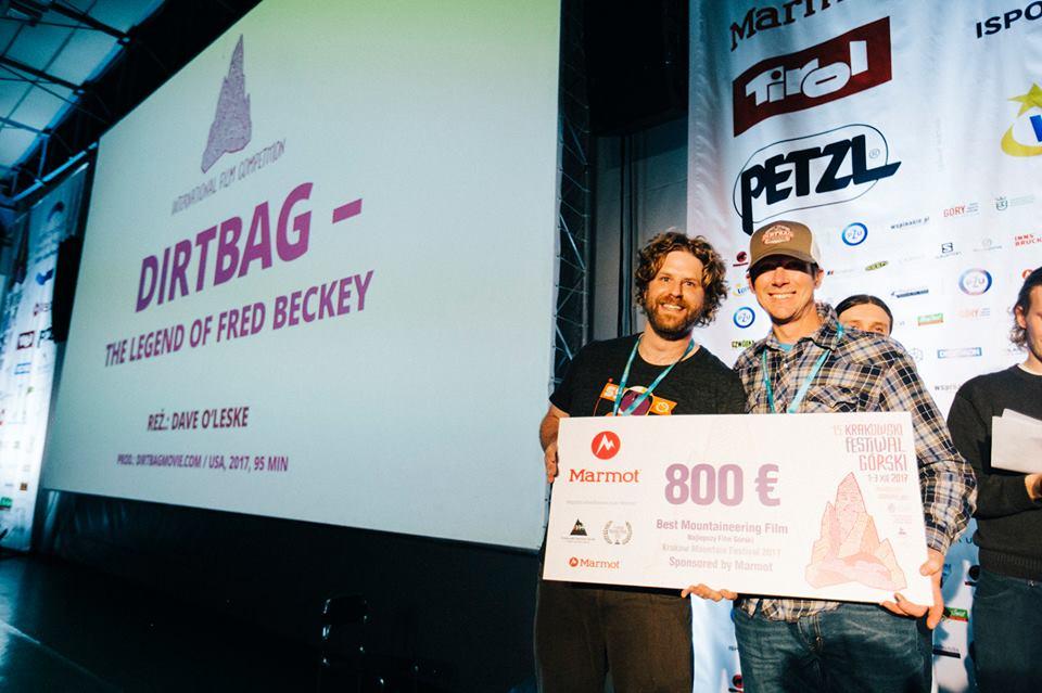 """Dirtbag - Nagrodę za najlepszy film górski otrzymał film """"Dirtbag: The Legend of Fred Beckey"""" w reżyserii Dave'a O'Leske"""