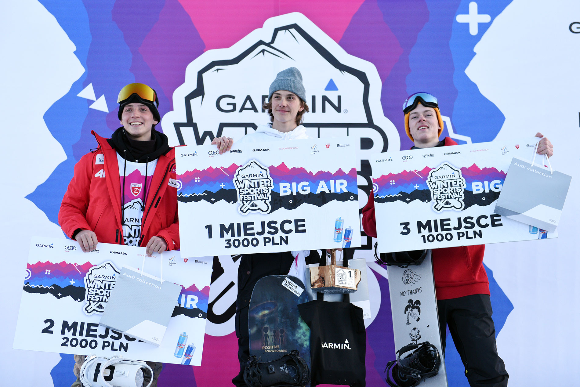 Podium GWSF Open Snowboard Men