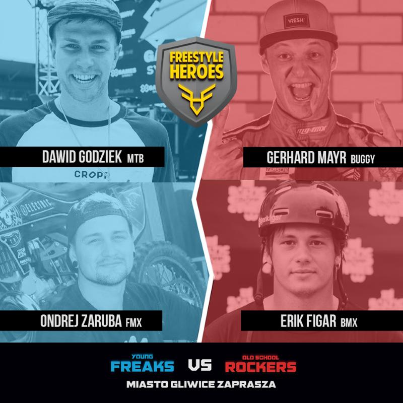 Freestyle Heroes - zawodnicy