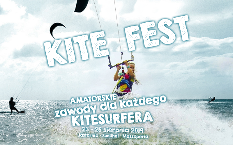 Kite Fest - Amatorskie zawody dla każdego kitesurfera