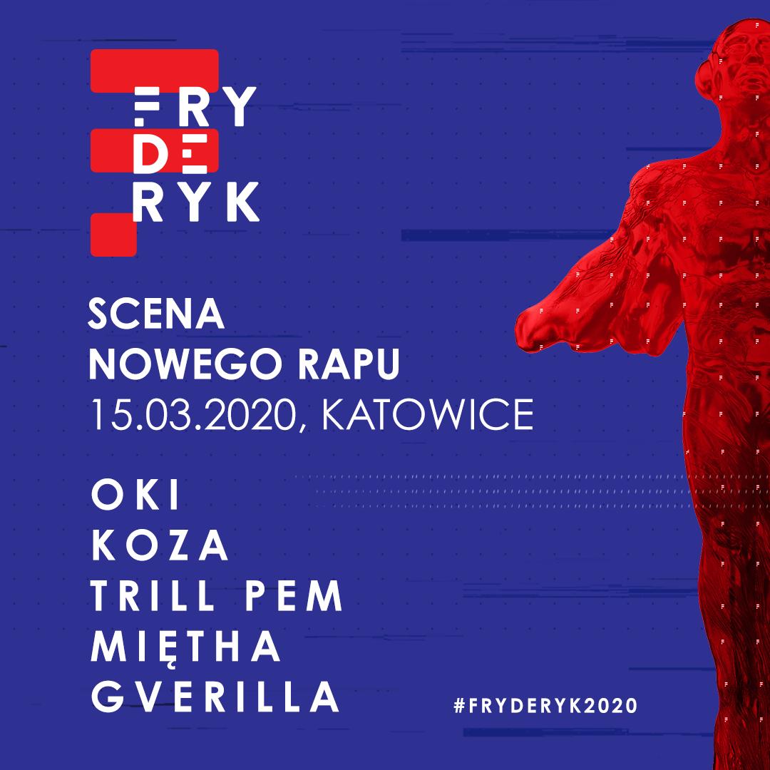 Scena Nowego Rapu na FRYDERYK Festiwal 2020