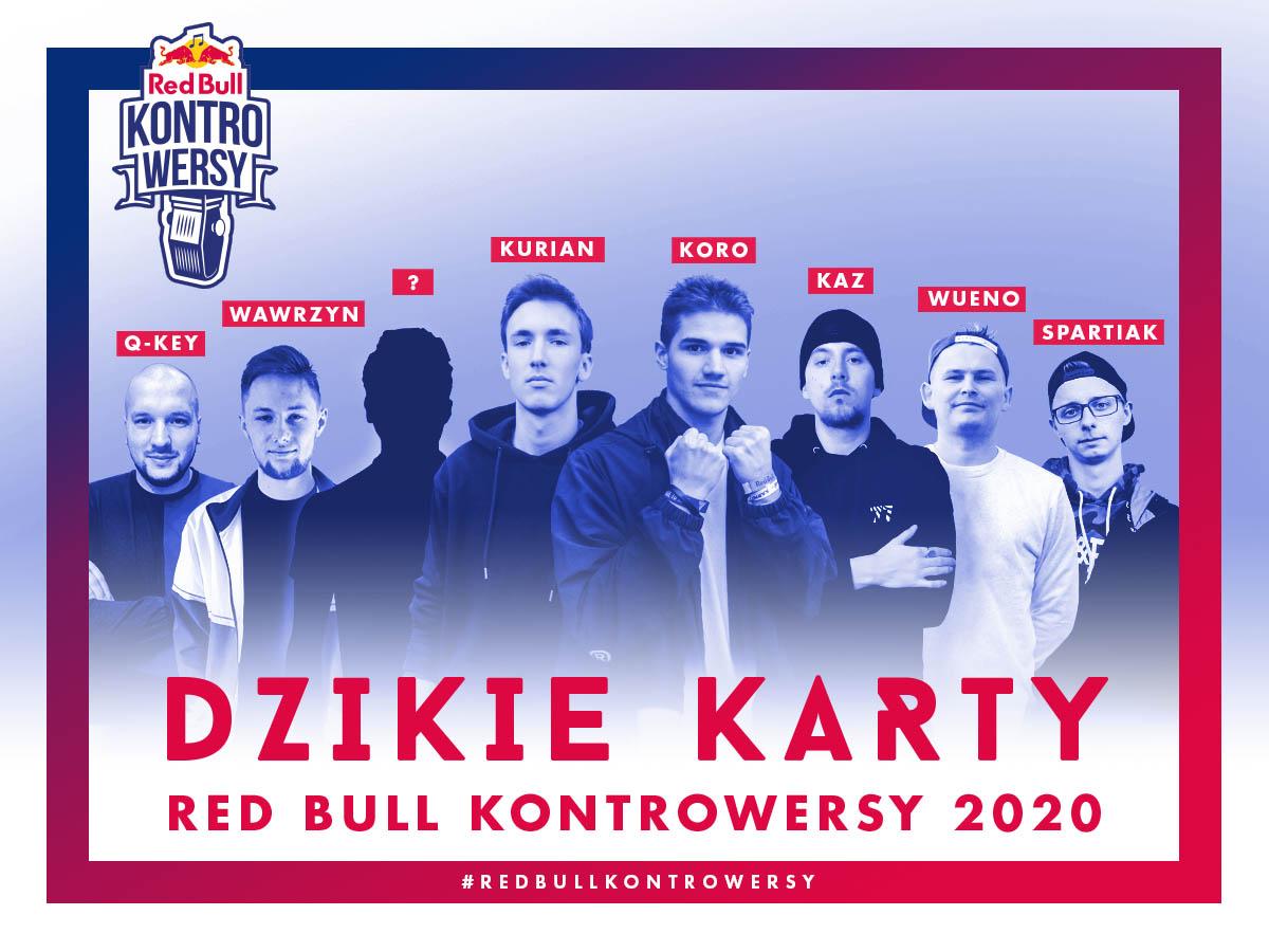 Znamy dzikie karty Red Bull KontroWersy 2020