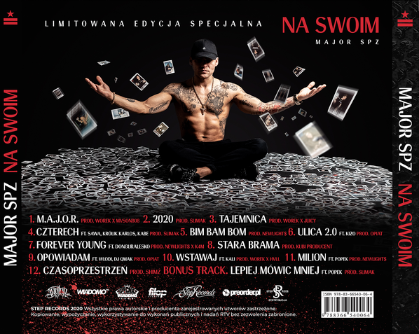 "Major SPZ prezentuje tracklistę albumu ""Na swoim"""