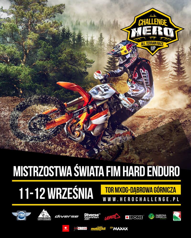 Mistrzostwa Swiata FIM Hard Enduro - plakat zawodów