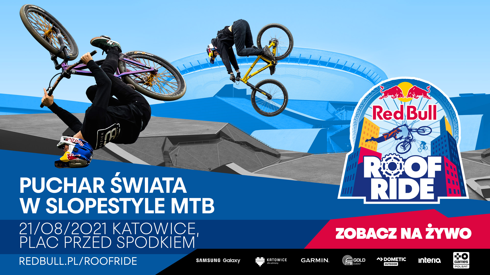 Plakat Red Bull Roof Ride