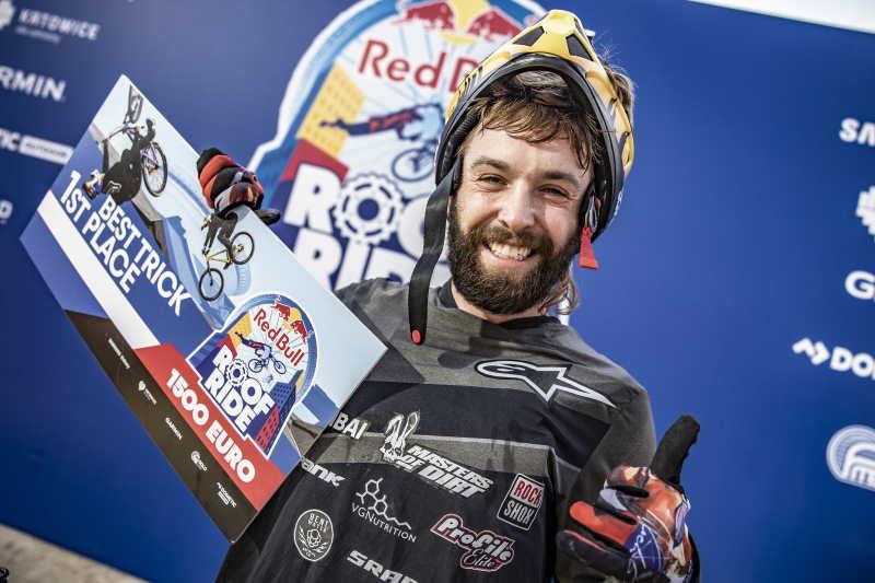 Nicholi Rogatkin zwycięzca Best Trick Red Bull Roof Ride