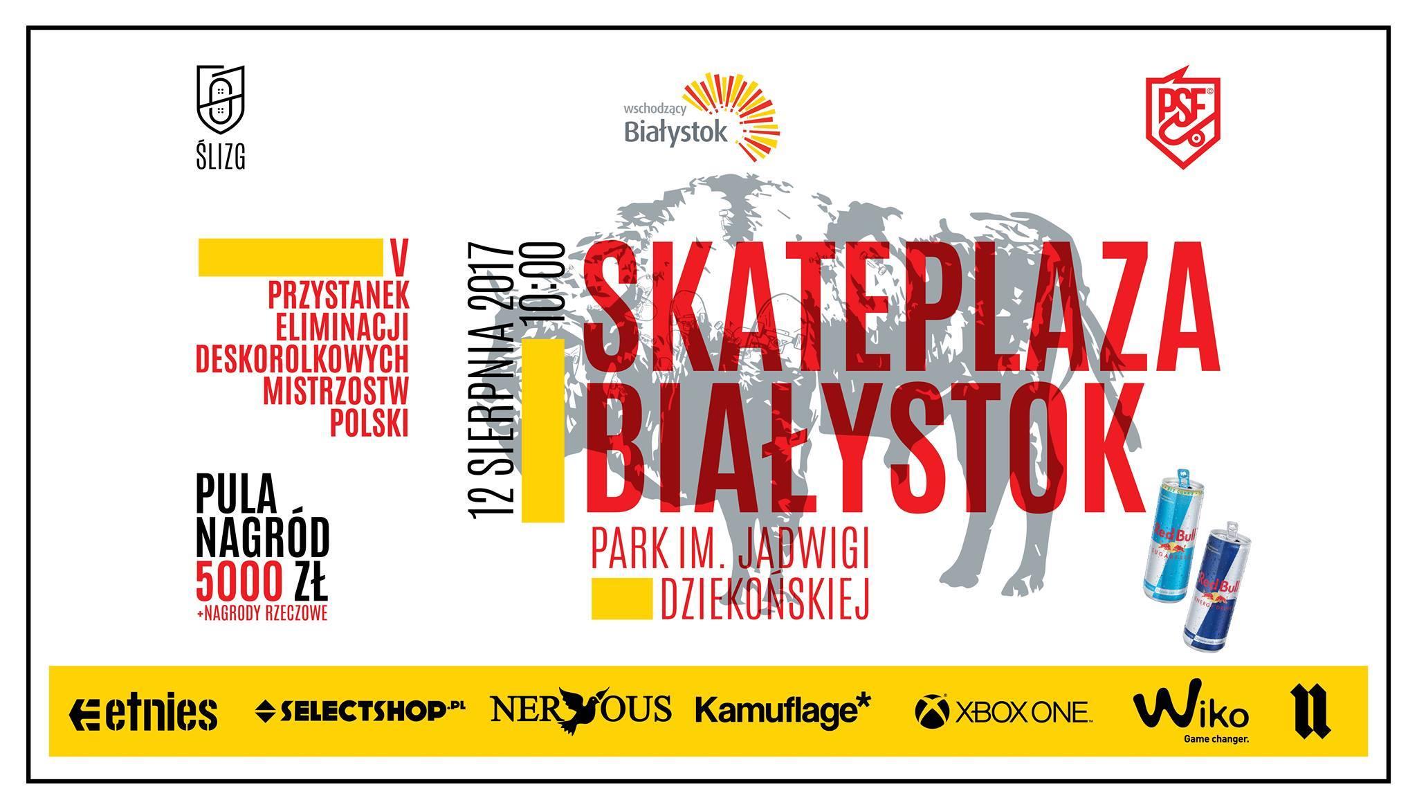Przystanek Deskorolkowych Mistrzostw Polski | Białystok