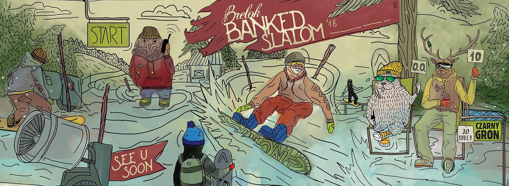 Brelok Banked Slalom 2018