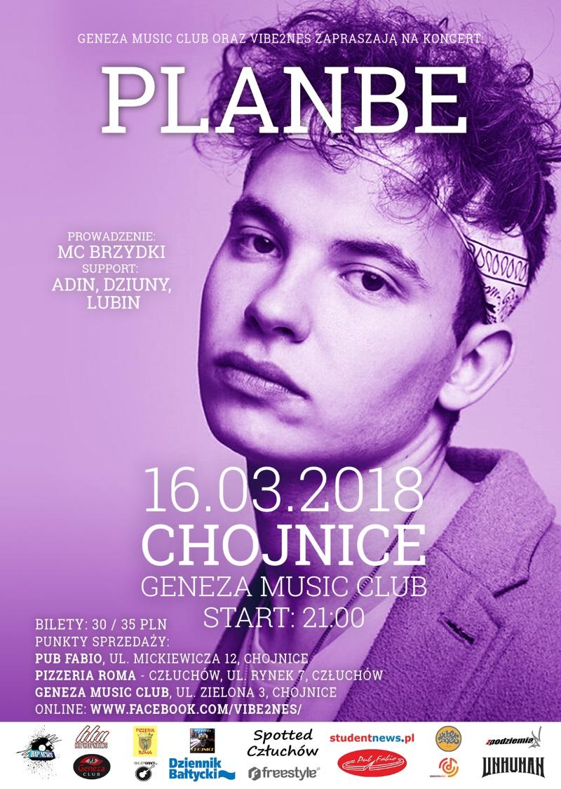 Koncert PlanBe w Chojnicach