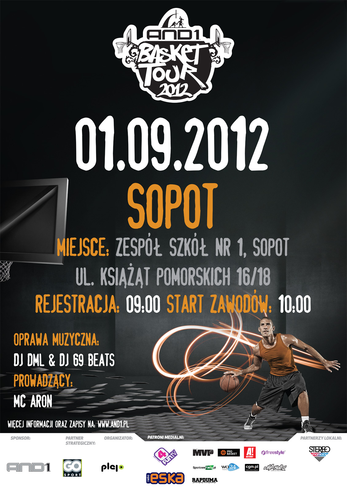 And1 Basket Tour 2012 - Sopot