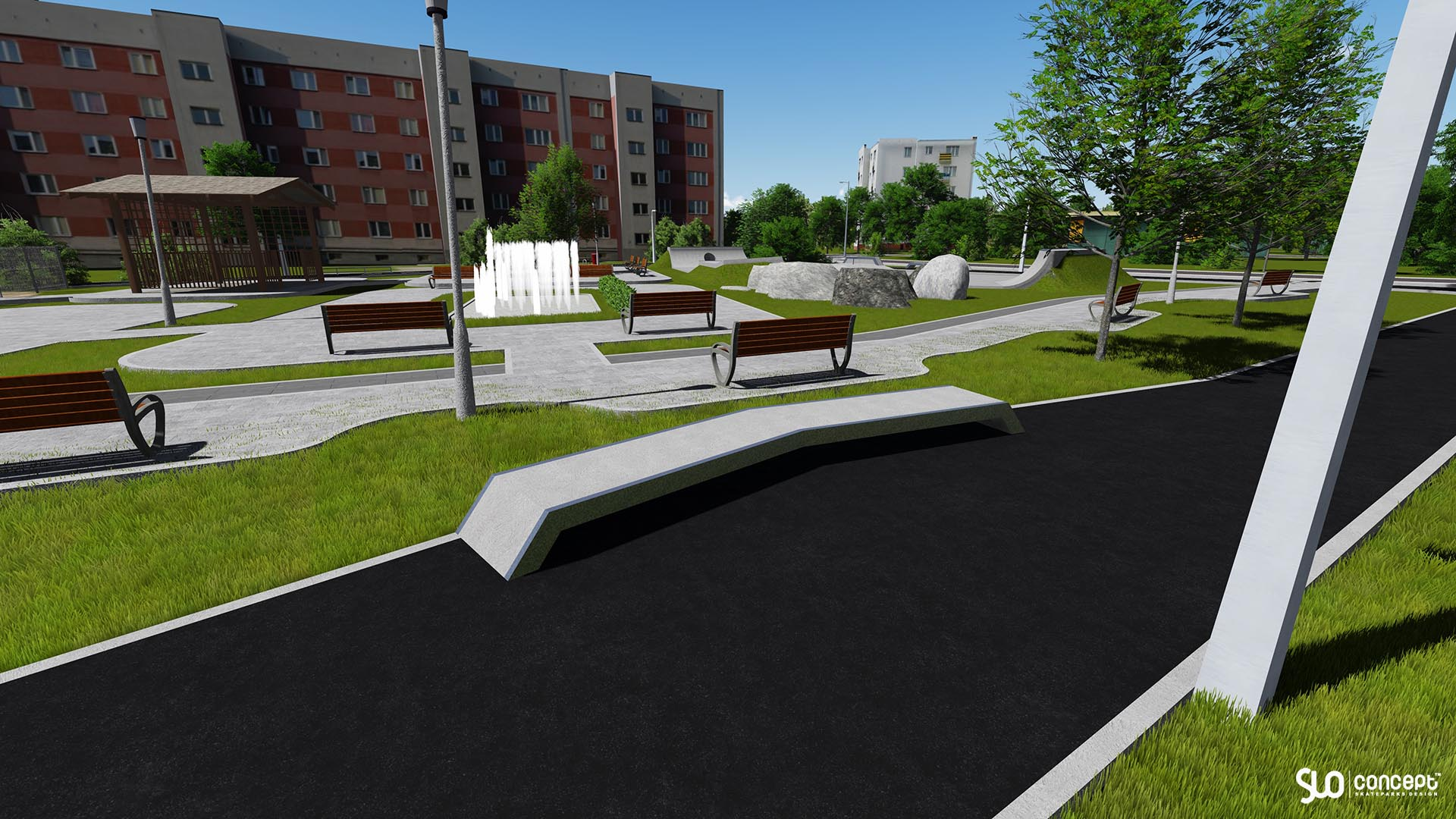 Rozbudowa betonowego skateparku w Przemyślu