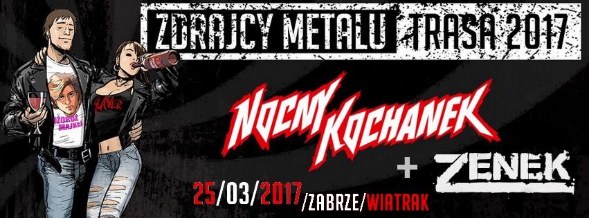 25.03.2017: NOCNY KOCHANEK + ZENEK w CK Wiatrak