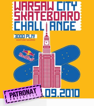 Warsaw City Skateboard Challaenge