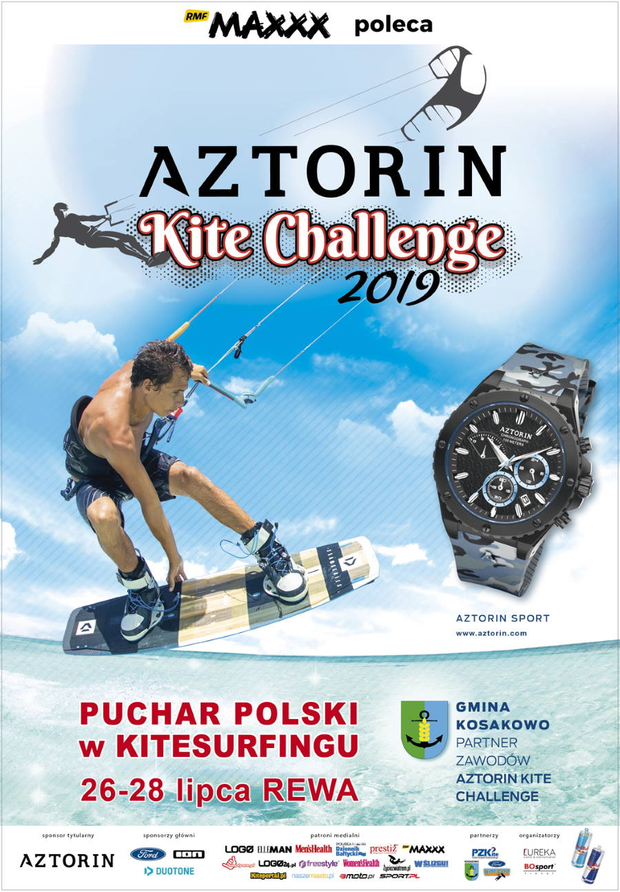 AZTORIN Kite Challenge- startują zawody o PP i MP w kitesurfingu