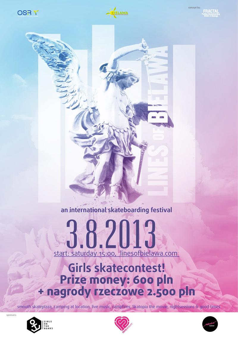 SkateGirls na Lines of Bielawa 2013