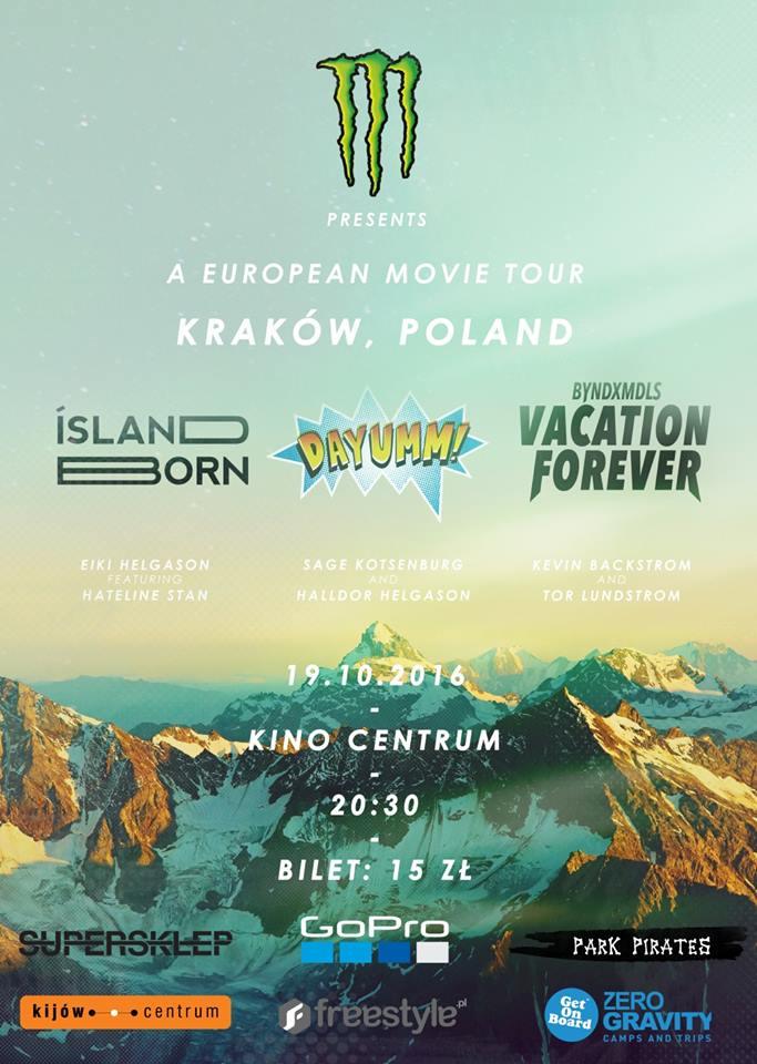 Kraków Movie Tour Stop / Byndxmdls, Dayumm!, Island Born